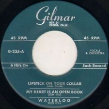 """MIKE HARRIS / DON HILL """"TIGER + 5"""" POP ROCK & ROLL 50'S EP  GILMAR 235"""