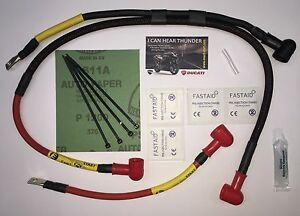 ES-27 MV Agusta Brutale 910 & 1078 Premium Hi Cap Starter Circuit Upgrade Cables