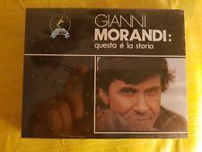 2 MC MUSICASSETTE GIANNI MORANDI QUESTA E' LA STORIA - CASSETTA NUOVA