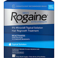 McNeil Rogaine Hair Regrowth Treatment Topical Solution 3 Month Supply