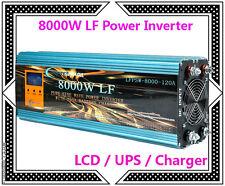 DE~32000W/8000W LF Pure Sine Wave Power Inverter 12V DC/230V AC LCD/UPS/Charger