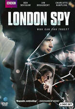 London Spy (DVD, 2016, 2-Disc Set) BBC Action and Adventure Movie