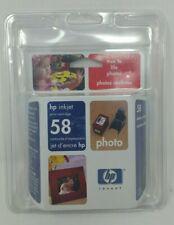 HP58 INKJET Photo Cartridge GENUINE/NEW/SEALED (C6658AC) (EXPIRED)