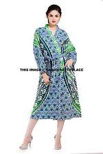Ombre Mandala Indian Cotton Robes Dressing Gown Wedding Bridemaid Nightwear Boho