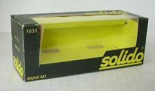Repro Box Solido Nr.1031 BMW M 1