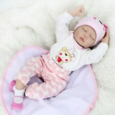 55cm Silicone Baby Doll Playmate Touch Toys for Birthday Xmas Surprise Gifts