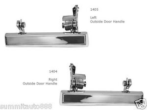 Exterior Door Handle For 78-87 Chevrolet El Camino Front Left and Right Set of 2