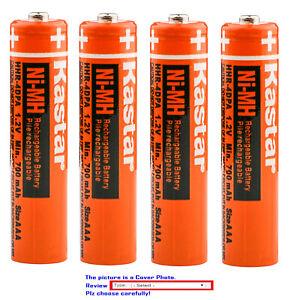 Kastar Battery for Panasonic BK40AAABU HHR-55AAABU HHR-65AAABU HHR-75AAA/BU
