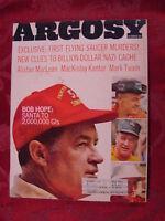 ARGOSY magazine December 1967 BOB HOPE ALISTAIR MACLEAN