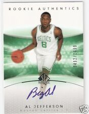 04-05 SP AUTHENTIC - AL JEFFERSON - ROOKIE AUTO