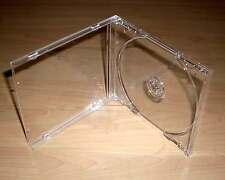 5 CD Hüllen durchsichtig transparent Case Cases Hülle Maxi Breite 10mm 1cm Neu
