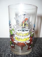 Verre à moutarde Lucky Luke N°4/1972 - vintage glass by Morris