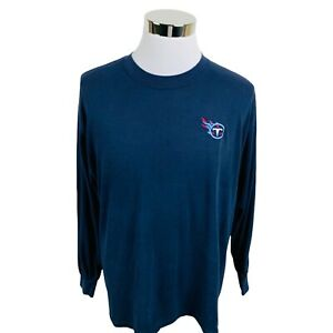 Tennessee Titans NFL Blue Long Sleeve T-Shirt Men's XL X-Large