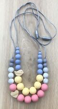 SOLD  OUT Silicone Wood (was teething) Necklace for Mum Jewellery Beads Aus Gift