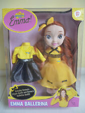 THE WIGGLES- Yellow Wiggle 30cm EMMA BALLERINA DOLL Kewpie Doll BRAND NEW BOX