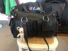 Nappy bag - Il Tutto Mia Leather Black
