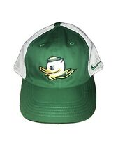 Oregon Ducks Nike Hat Green And White