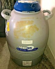 Taylor Wharton Vhc35 Liquid Nitrogen Freezer With Two 11 Canisters