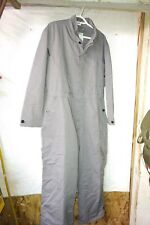 Work Uniform Gray Coveralls-Made in Canada by Logistik or similar - Size 76/40