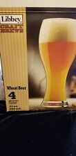 Libbey Craft Brew Wheat Beer Glasses Set of 4
