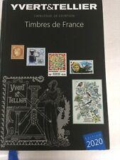 Catalogue de Timbres de France Yvert & Tellier 2020 Tome I