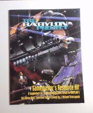 The Babylon Project Gamemaster's Resource kit / Game Screen Babylon 5 RPG - NEW