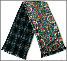 VINTAGE DUGGIE SCARF BLUE PAISLEY WELLER SCOOTER MOD SKA INDIE RETRO GOODWOOD