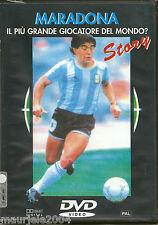 Maradona Story. Il più grande giocatore del mondo (1989) DVD NUOVO SIGILLATO