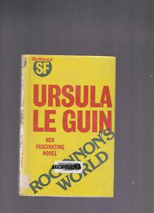 Ursula Le Guin / Hainish Cycle 1 Rocannon's World H/C D/J