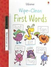 Wipe-Clean First Words (Usborne Wipe-Clean Books)