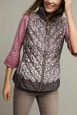 NEW Anthropologie $128 Trellia Puffer Vest by Hei Hei Size XS