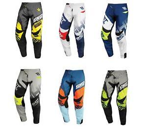 Shot 2020 Motorbike Motocross Contact MX Off Road Racing Adult Pants
