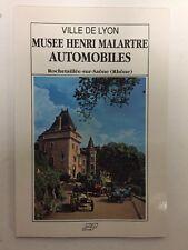 Booklet Book livre Livret Musee Museum Henri Malartre Car voiture Rochetaillee