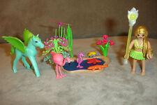 Playmobil 5352 Princess sonnenfee con pegasusbaby verano viento en el estanque completamente