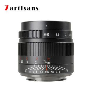 7artisans 35mm F0.95 APS-C Manual Focus Lens for Sony E a5000 a6000 a6300 a6600