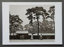 Werner Bischof Ltd. Ed. Photo Print 24x17cm Meiji-Schrein Tokio Tokyo 1951 B&W