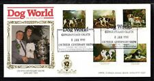 1991 DOGS: Dog World (DWPA - Skinner) OFFICIAL FDC - Illustration as shown