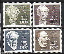 DDR Nr.  1440-43 **  Berühmte Personen