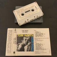 TOM WAITS - RAIN DOGS (RARE PORTUGAL ISSUE CASSETTE TAPE) ISLAND 10.407085.50