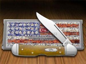 Case xx Mini Copperlock Knife Smooth Antique Bone Stainless Pocket Knives 58186