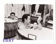 Gene Barry and men in tubs VINTAGE Photo Forty Guns