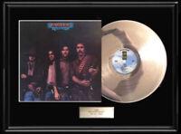 THE EAGLES DESPERADO  LP WHITE GOLD SILVER PLATINUM TONE RECORD RARE NON RIAA