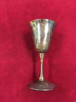 K) Turn Washington's Spies AMC TV Prop Silver Plate Drinking Goblet COA