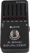Joyo JF-11 6-Band EQ True Bypass Electric Guitar Effect EQ Pedal