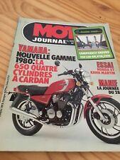 MOTO JOURNAL 432 1979 Yamaha XJ650 Honda KAwa Martin enduro 250 KTM SWM CAn-AM