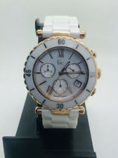GUESS COLLECTION GC47504M Ceramic White Rose Gold Unisex Watch (170E)