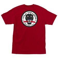 Independent Trucks Curb Killer Skateboard T Shirt Cardinal Red Large