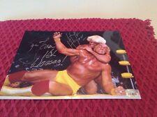 TNA/WWF/WWE WRESTLING AUTOGRAPHED HULK HOGAN VS RIC FLAIR PHOTO! COA INCLUDED!
