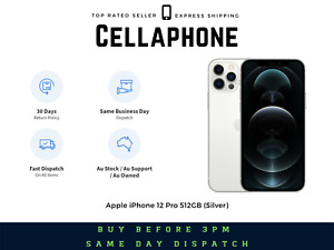 ~~Brand New~~ Apple iPhone 12 Pro 512GB - Silver (Au Stock), GST/Tax Invoice