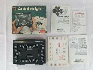 Vintage Teach Yourself Auto Bridge by Grimaud Hands You Play Alone Intermediate